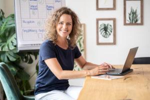 Business Portrait Geschäftsführer Frau Schmitt