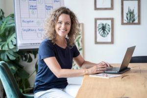 Selbständige Business Portrait Frau Schmitt