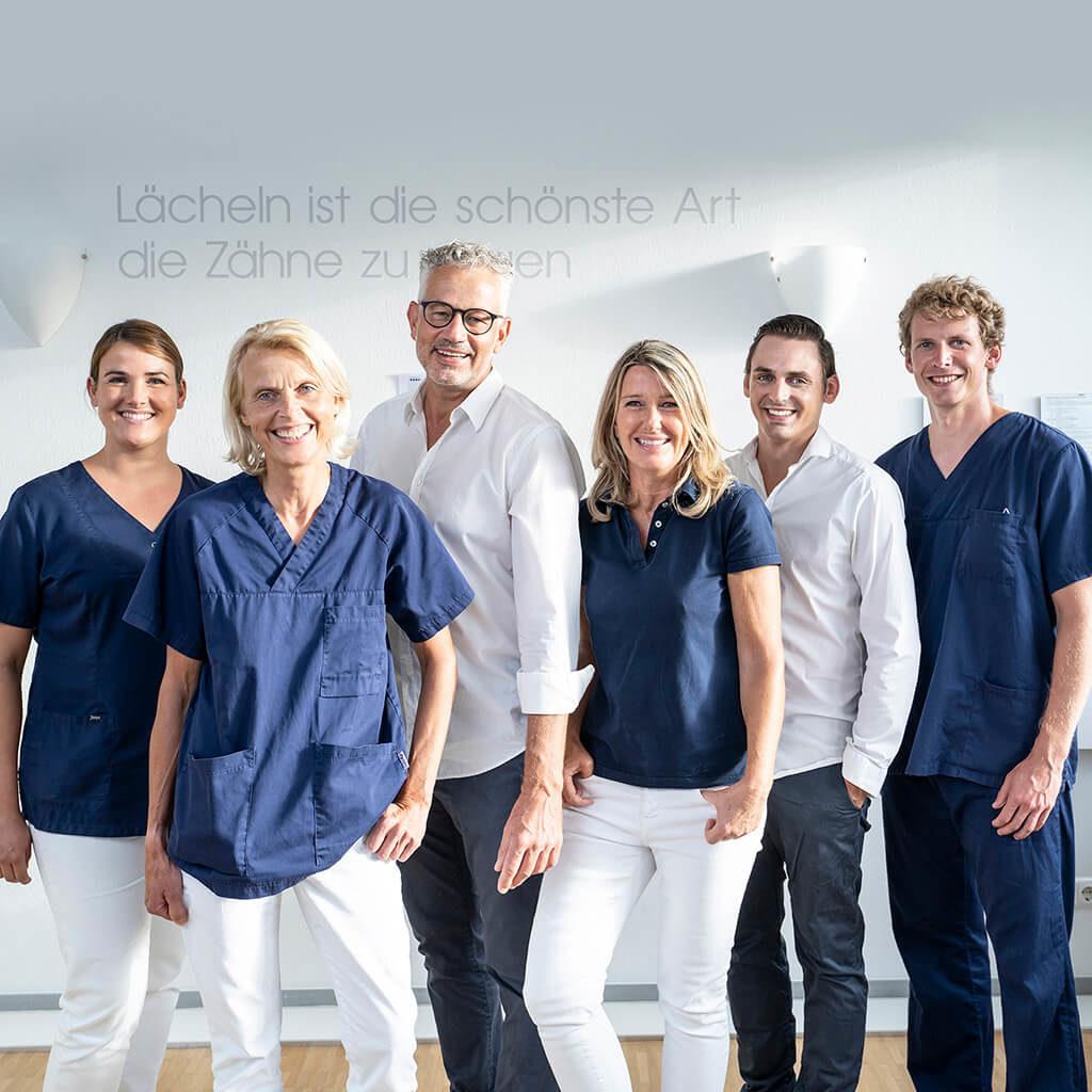 Gruppenfoto Praxis Ingelheim