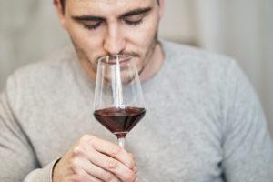 Wein Produktfotografie Riechen